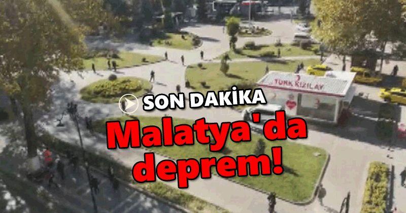 Last Minute: Earthquake in Malatya!