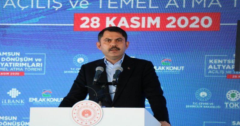 Bakan Kurum: 272 bin 261 adet sosyal konut ve dönüşüm konutumuz yükselmekte