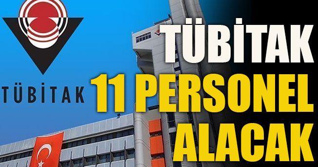 TÜBİTAK will take 11 personnel