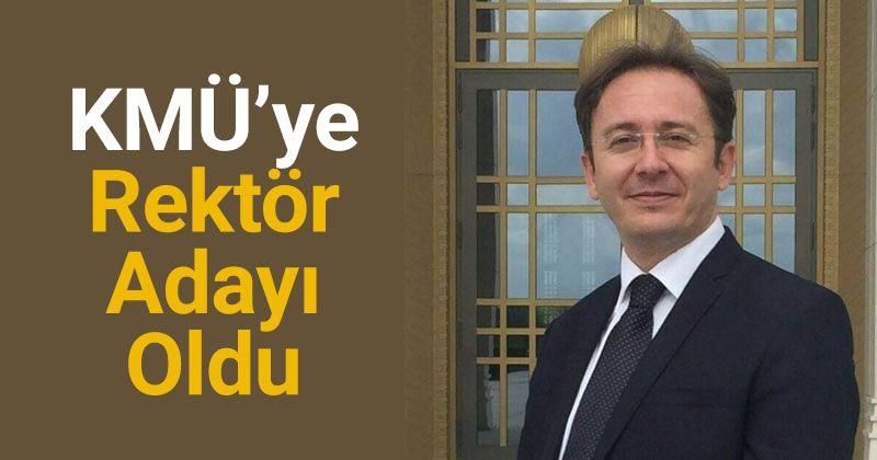 Prof. Dr. Alodalı, KMÜ'ye Rektör Adayı Oldu