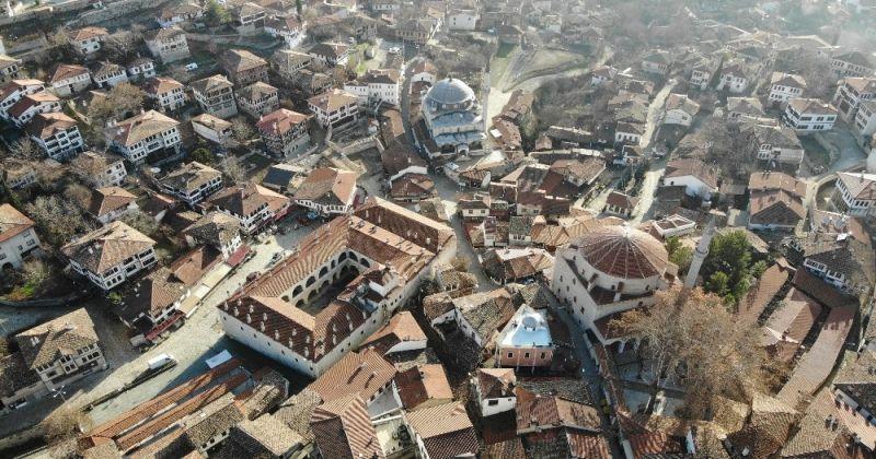 Osmanlı kenti Safranbolu'da kısıtlama sessizliği