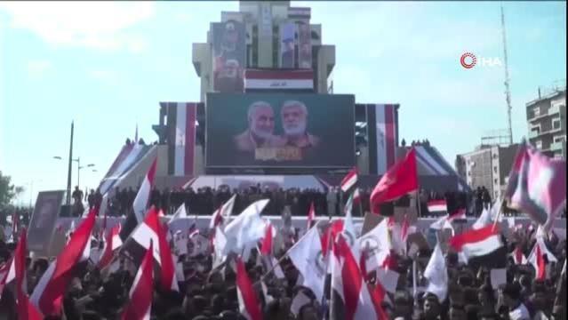 """Iraklı Haşdi Şabi Başkanı: """"ABD askerlerinin ülken çıkması gerekiyor"""""""