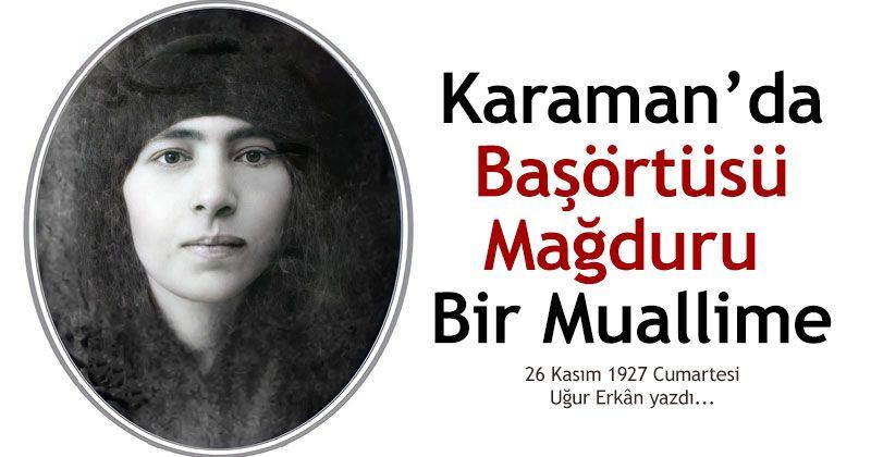 A Headscarf Victim in Karaman