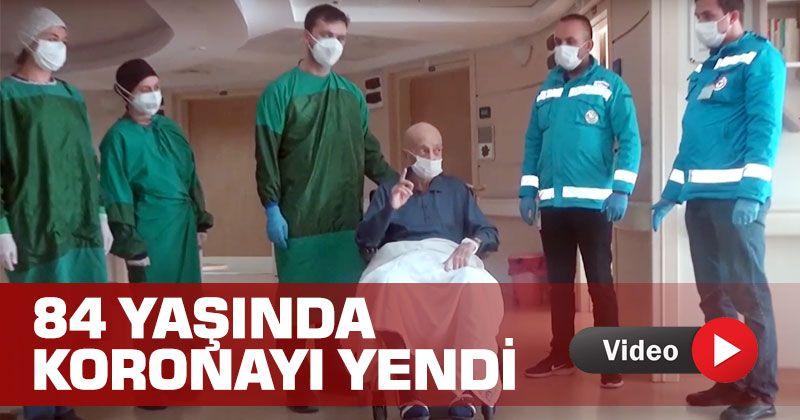 Karamanlı Uncle Mehmet Defeated The 84-Year-Old Coronary