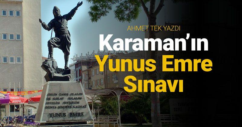 Karaman's Yunus Emre Exam