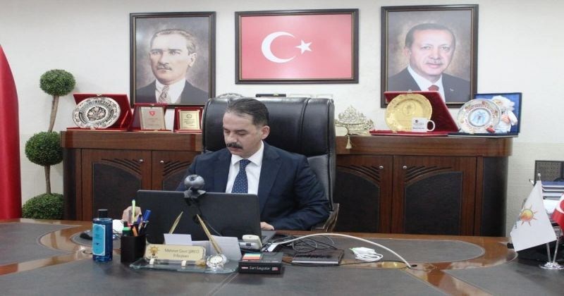 AK Parti İl Başkanları toplantısı video konferans yöntemiyle gerçekleştirildi