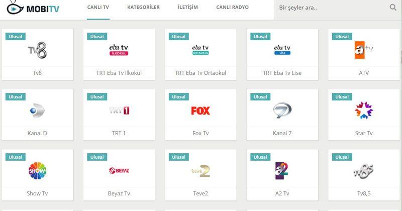TV İzle - Canlitv.mobi ile Donmadan Canlı Yayın izle