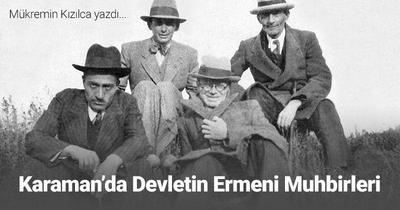Armenian Informants of the State in Karaman in 1845