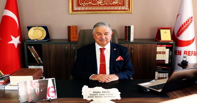 Yeniden Refah Genel Başkan Yardımcısı Bekin: ABD'nin çöküşü başlamıştır