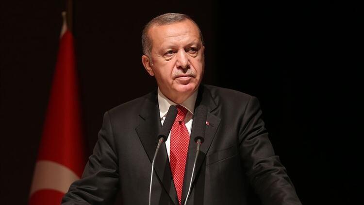 """Cumhurbaşkanı Erdoğan, """"Bu sabah uzaya fırlatılan TÜRKSAT 5A uydumuzla Doğu yörüngesindeki uzay haklarımızı 30 yıl boyunca garanti altına alıyoruz"""""""