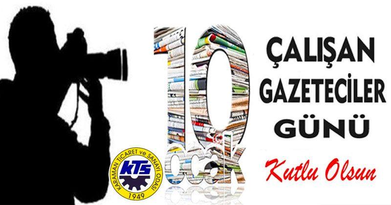 KTSO'dan 10 Ocak Çalışan Gazeteciler Günü Mesajı