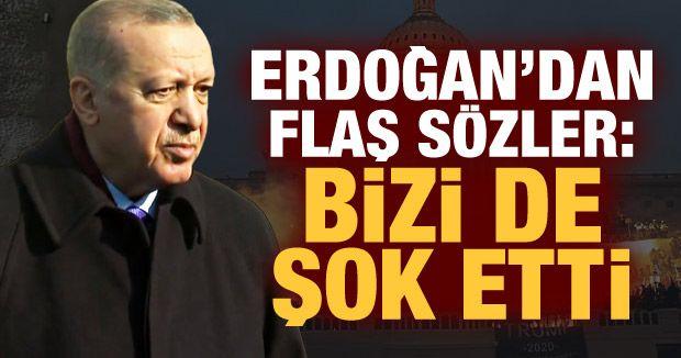Erdoğan'dan ABD'deki işgal girişimine dair ilk açıklama!