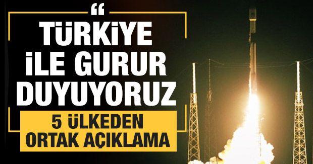 5 ülkeden ortak açıklama: Türkiye ile gurur duyuyoruz