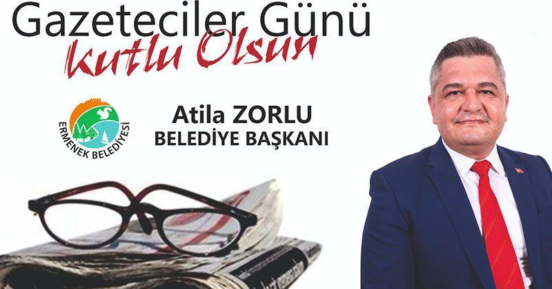 Başkan Zorlu Gazeteciler gününü kutladı