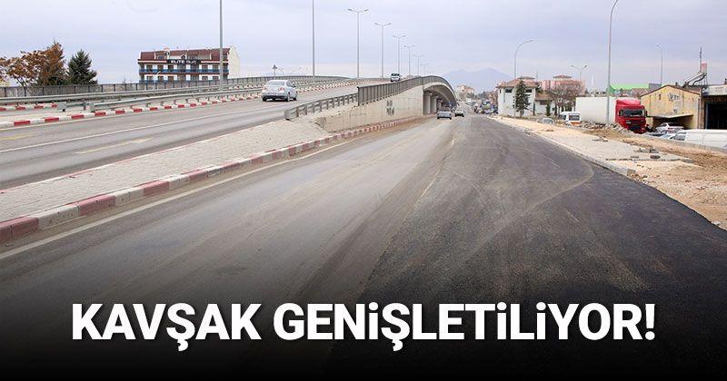Road Expansion Work at Sanayi Köprülü Junction