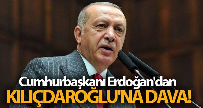 Cumhurbaşkanı Erdoğan'dan Kılıçdaroğlu'na dava!