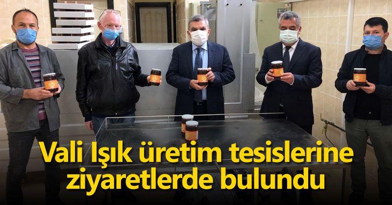 Governor Işık paid visits