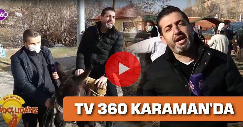 Karaman Culture Promoted on National TV