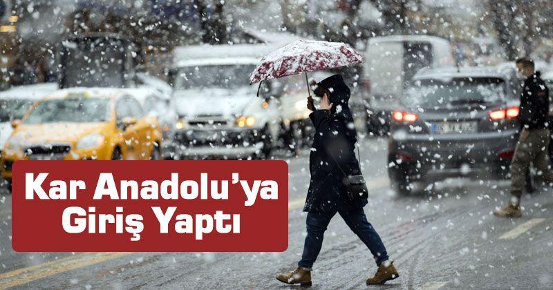 Snow Entered Anatolia