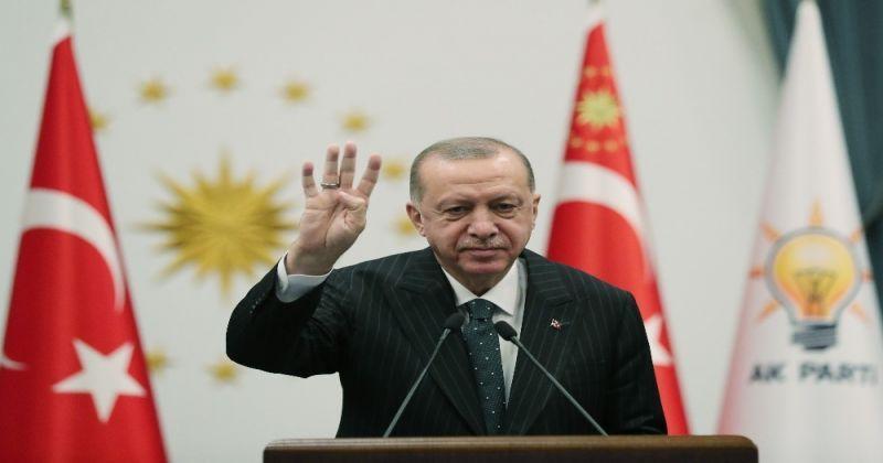 Cumhurbaşkanı Erdoğan: Zerre kadar onuru olsa o koltuktan çekip giderdi