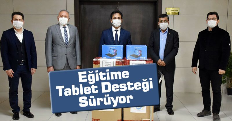 Tablet Support for Education Continues in Karaman