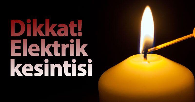 Karaman'da 1 mahalle ve 6 köyde elektrik kesintisi olacak!