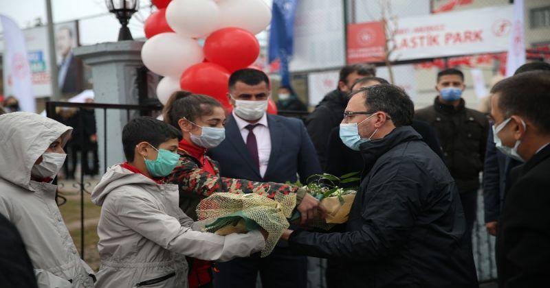 Bakan Kasapoğlu, Siirtli çocukların hayalini gerçeğe dönüştürdü