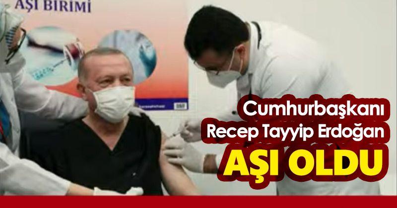 President Erdogan Gets Covid-19 Vaccine