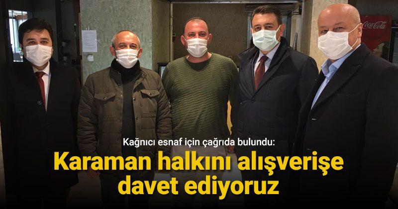Kağnıcı: We invite the people of Karaman to go shopping