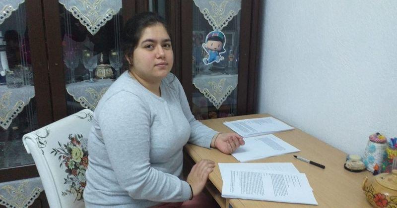 15 yaşında roman yazan Sıla, kitabını basmak için destek bekliyor