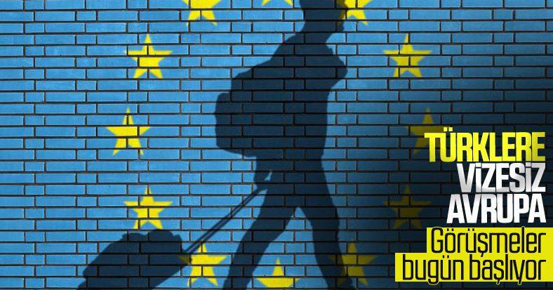 Begins talks between Turkey and EU visa
