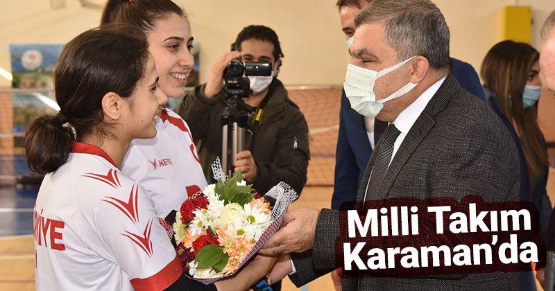 Governor Işık Visited National Team Entering Camp in Karaman