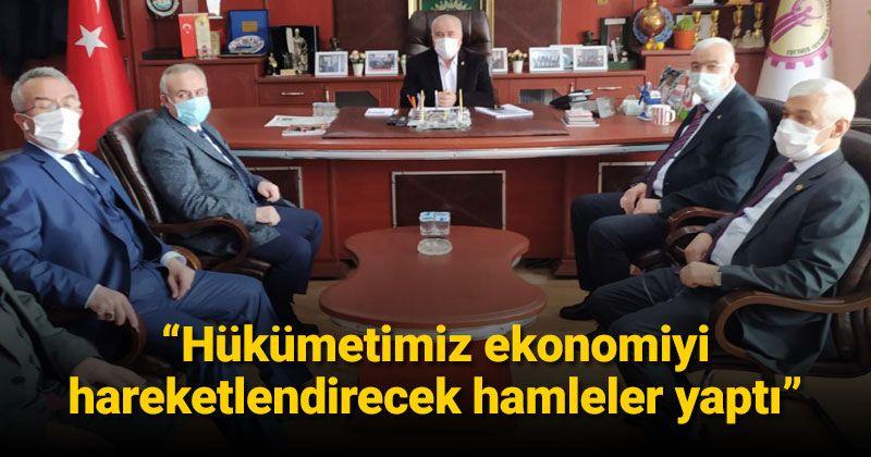 AK Parti Karaman Teşkilatı çalışmalara devam ediyor