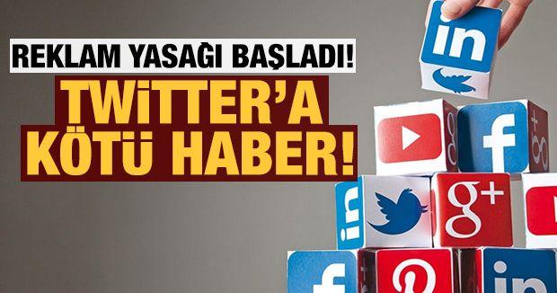 Sosyal medya platformlarına reklam yasağı başladı!