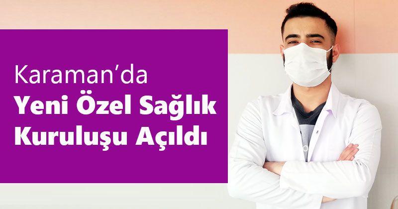 Umay Sağlık Kabini Karaman'da açıldı