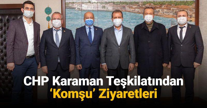 CHP Karaman Teşkilatı'nın Adana ve Mersin Ziyaretleri
