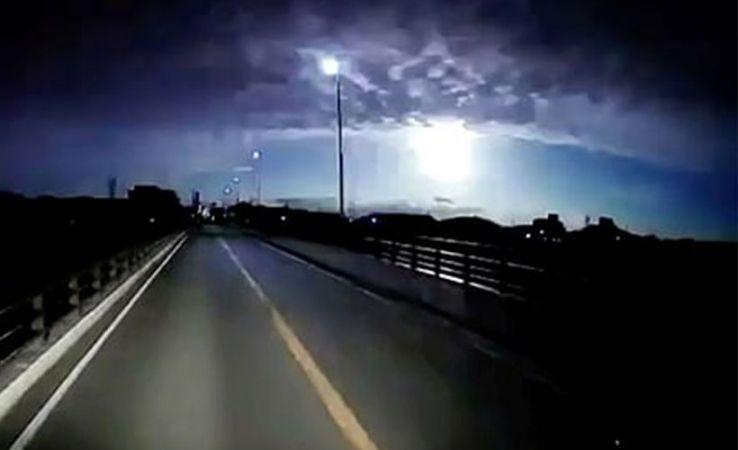 Japonya'ya göktaşı düştü