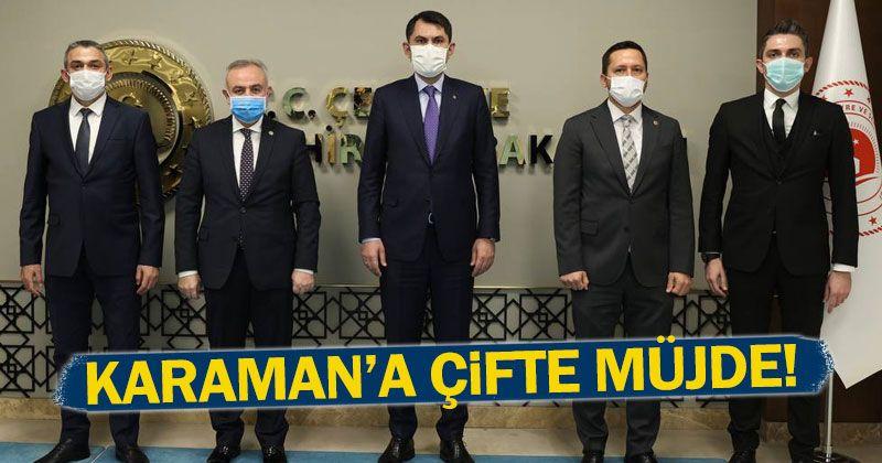 Vekillerden Karaman'a Kültür Merkezi ve Müze ile Ödenek Müjdesi