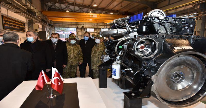 BMC'nin ürettiği askeri araçlara yerli motor