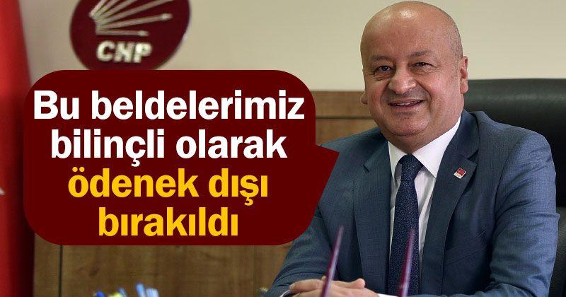 Kağnıcı: Göktepe and Güneyyurt were deliberately excluded from funding