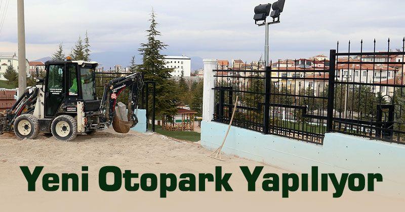 Parking Lot Work in Karaman Grove