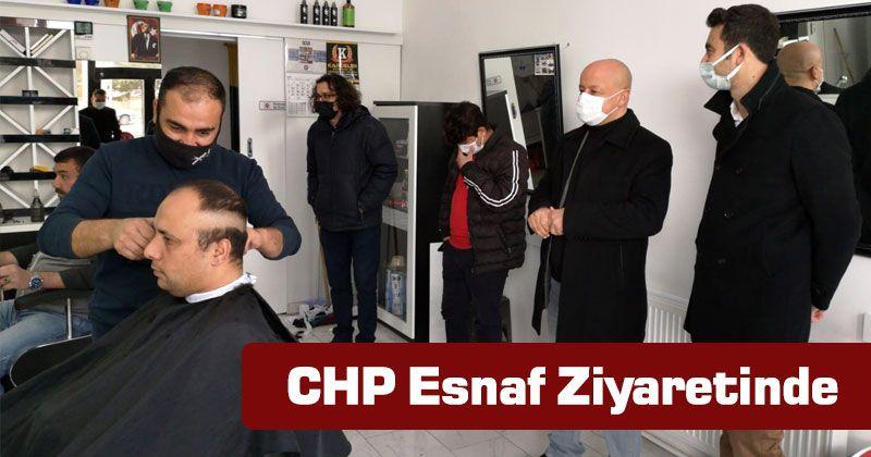 Karaman CHP Organization Visited Tradesmen