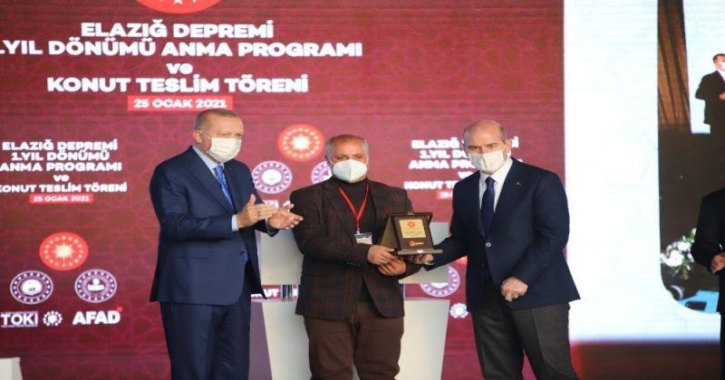 Cumhurbaşkanı Erdoğan: Elazığ'da 8 bin ailemizi yeni evlerine kavuşturmuş oluyoruz