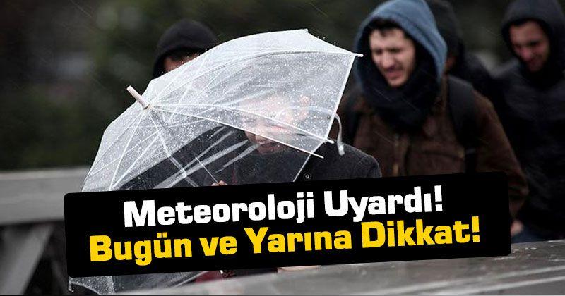 Meteorolojiden Karaman İçin Uyarı!