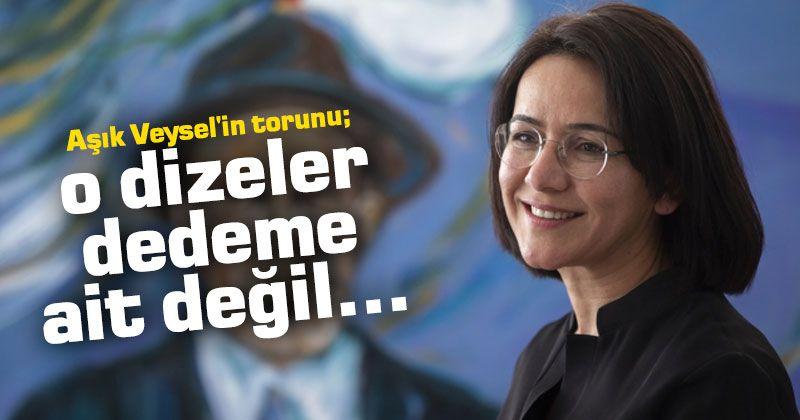 The grandson of Aşık Veysel; those lines do not belong to my grandfather ...