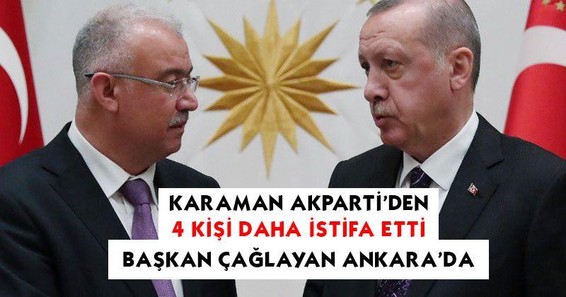 4 more people resign from Karaman AK Party