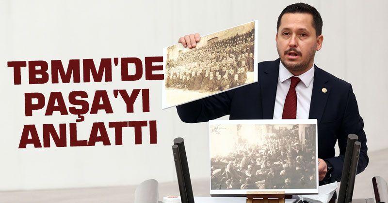 Karaman Deputy Selman Oğuzhan Eser spoke at the Turkish Grand National Assembly