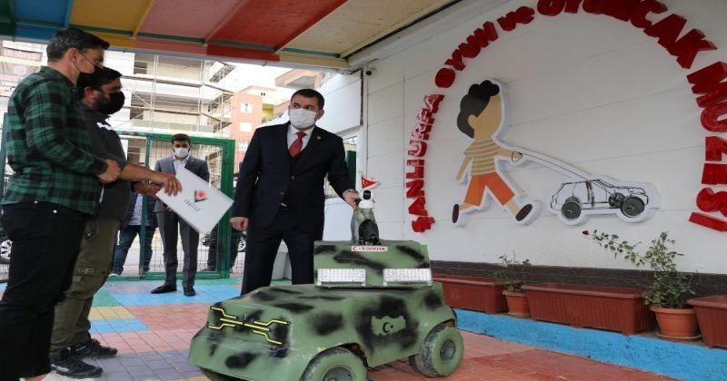 İnsansız kara aracının prototipi oyuncak müzesinde sergilenecek