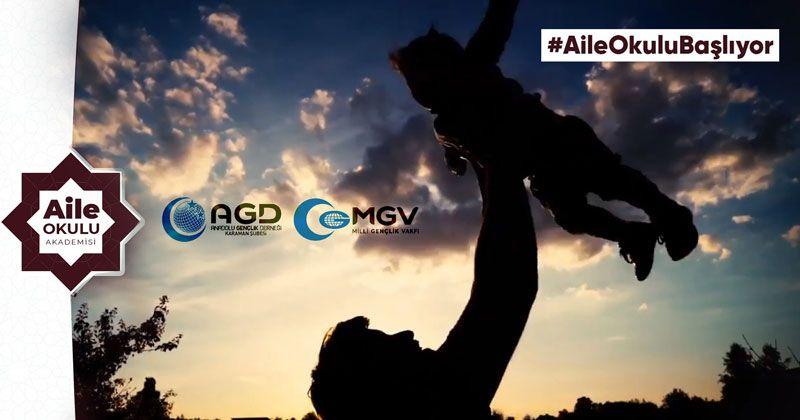 AGD Aile Okulu'nda Eğitimler Başlıyor