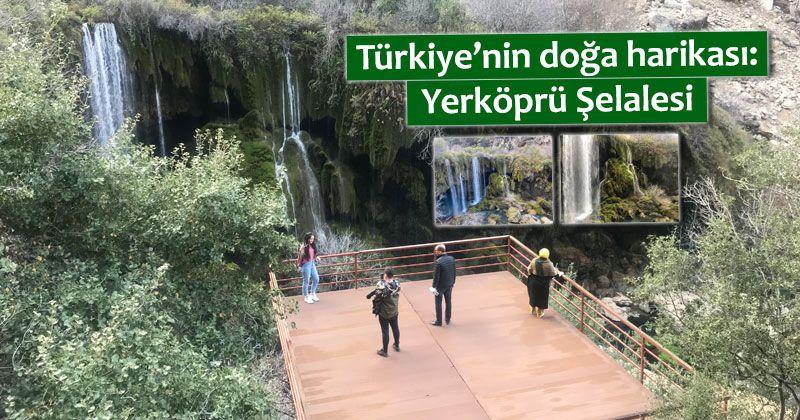 Türkiye'nin doğa harikası: Yerköprü Şelalesi